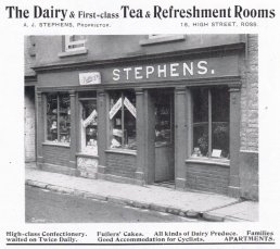 A. J. Stephens Dairy and Tea Rooms