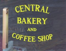 The door to the Central Bakery