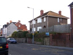 Houses on Cantilupe Road