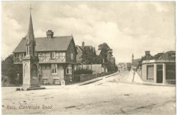 A postcard view of Cantilupe Road