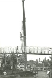 The Cantilupe Road bridge removal
