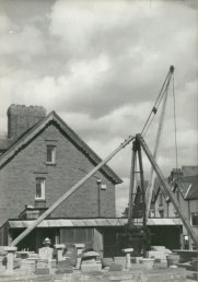 The crane on Cantilupe Road