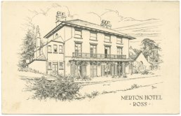 Merton House postcard