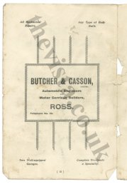 Butcher and Casson advert