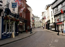 The High Street Ross-on-Wye in 2011