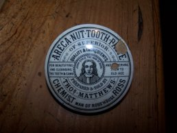 Thomas Matthews toothpaste pot