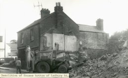 Demolition of houses