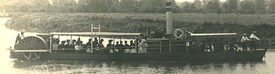 The Wilton Castle Paddle Steamer