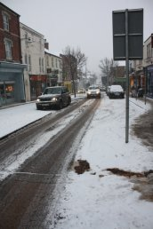 Snow on Gloucester Road