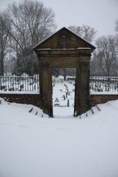 Snow on Kyrle Gate