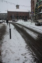 Snow in the Market Place