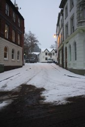 Snow on St. Marys Street