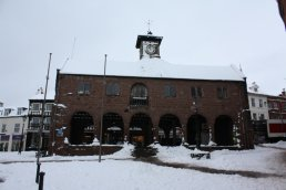 Market House in the snow