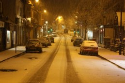 Gloucester Road in the snow II