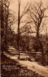 The Lovers Seat, John Kyrles Walk, Ross