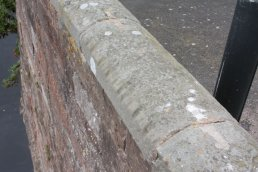 Rope marks on right side of fifth arch (19-10-08)