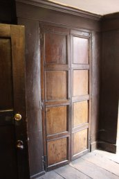 Panelling in John Kyrle`s house