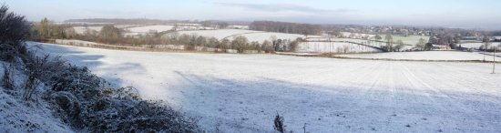 Snow views from Linton
